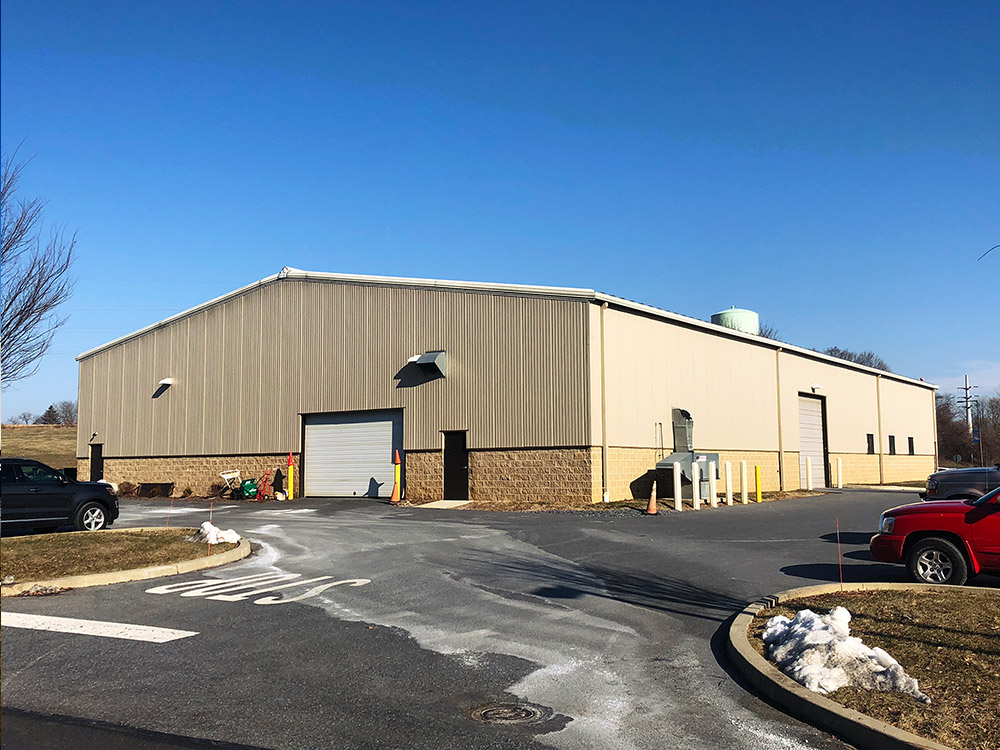 About Lehigh Valley Building Systems Metal Building